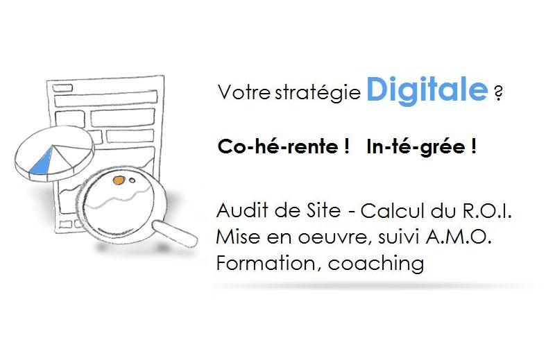 Stratégie Digitale fondée sur l'Inbound Marketing